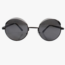 Load image into Gallery viewer, Statement Black Visor Sunglasses - Accessory O