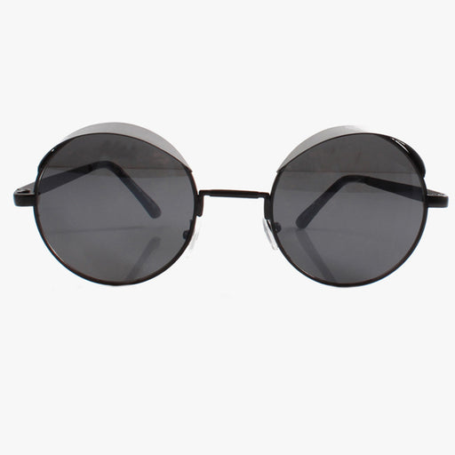 Statement Black Visor Sunglasses
