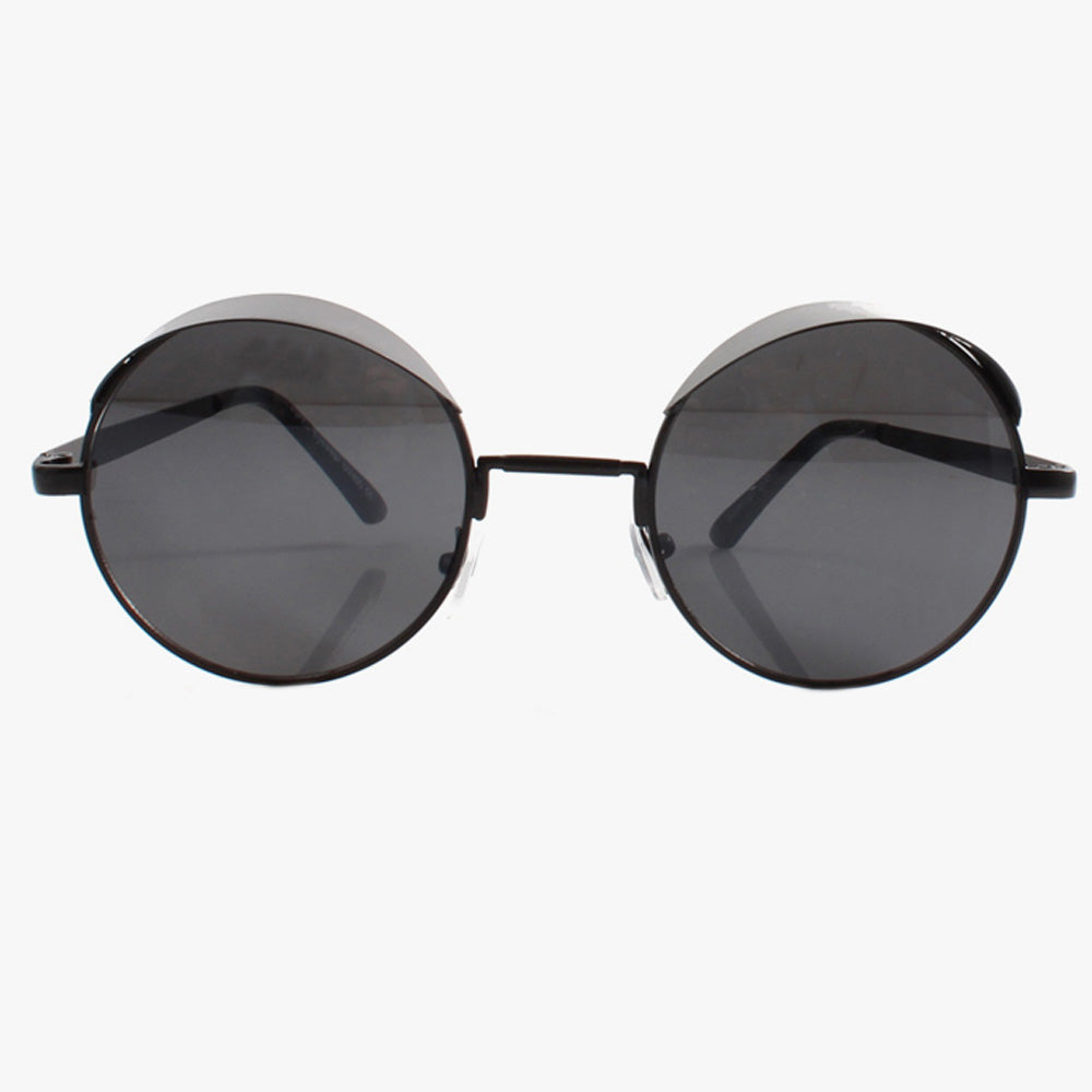 Statement Black Visor Sunglasses - Accessory O