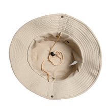 Load image into Gallery viewer, safari hat  summer festival amazon cotton sustainable fashion trend