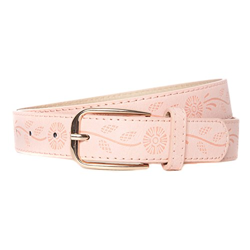 pretty pink belt ladies girls gold embossed amazon cute style trend fashion