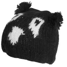 Load image into Gallery viewer, knitted beanie hat with ears boys girls winter outdoor comfort warmth amazon