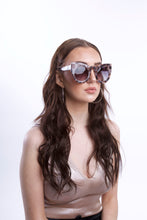 Load image into Gallery viewer, Animal Print Oversized Cat Eye Sunglasses - Accessory O