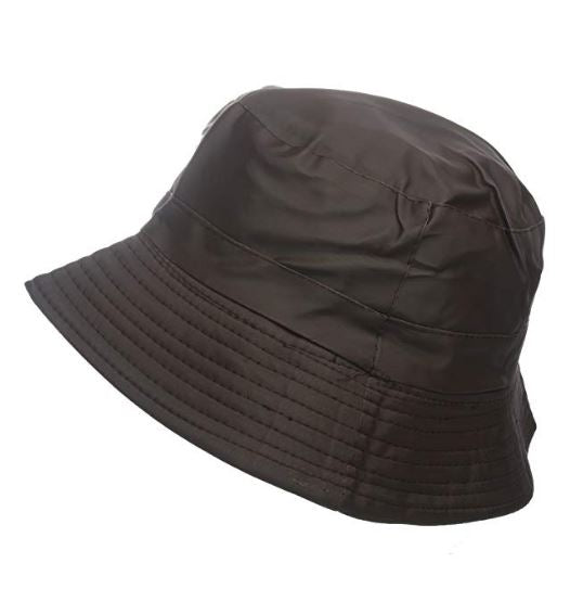 brown outdoor hat bucket festival amazon party showerproof men ladies unisex
