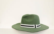Load image into Gallery viewer, SVNX Khaki Fedora Hat - Accessory O