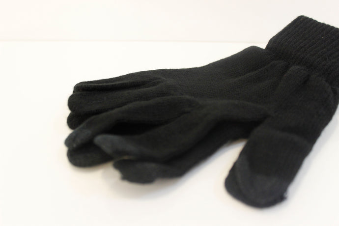 SVNX Black Touch Screen Gloves - Accessory O
