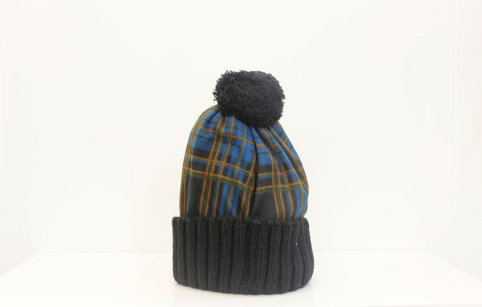 SVNX Check bobble hat - Accessory O