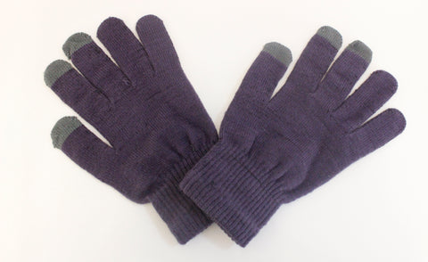 SVNX Navy Touch Screen Gloves - Accessory O