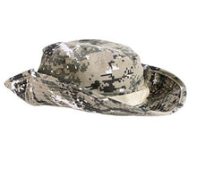 Load image into Gallery viewer, Khaki Army Print Style Safari Hat | ACCESSORYO