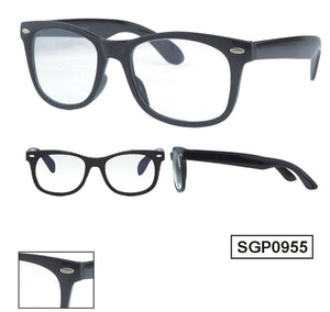 geek wayfarer clear lense amazon black