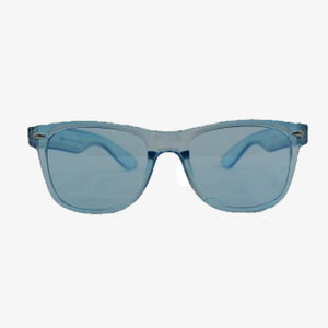 Clear Blue Wayfarer Sunglasses - Accessory O