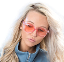 Load image into Gallery viewer, Clear Pink Wayfarer Sunglasses - Accessory O