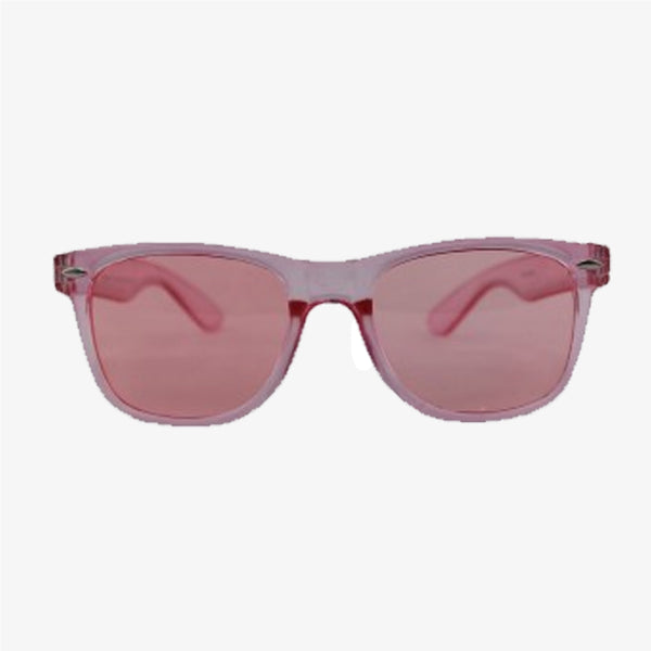 Clear Pink Wayfarer Sunglasses - Accessory O