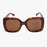 Olivia Tortoiseshell Oversized Square Sunglasses - Accessory O