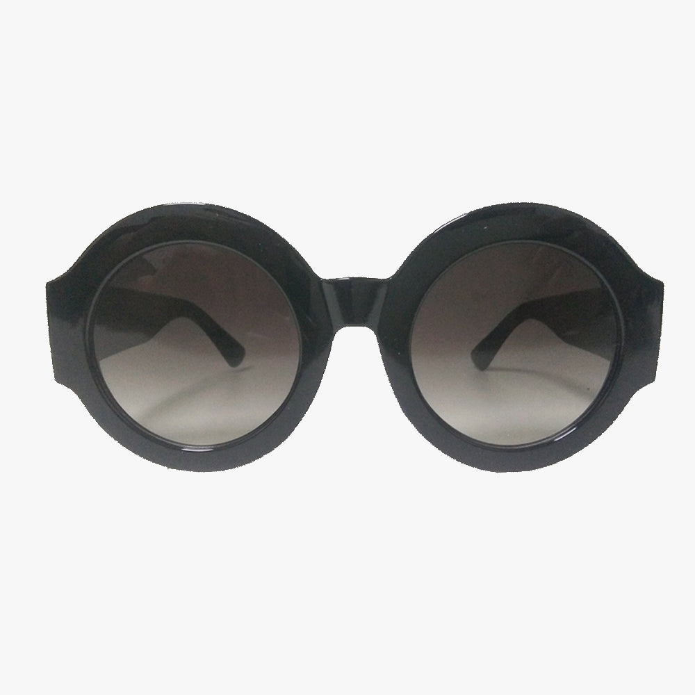 Aria Oversized Round Frame Sunglasses - Accessory O