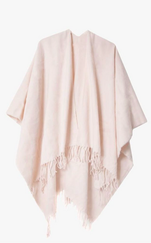 Peach Blush Blanket Wrap Scarf