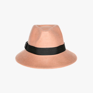 Black Trim Bucket Style Camel Hat - Accessory O