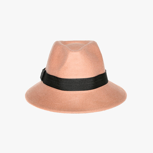 Black Trim Bucket Style Camel Hat