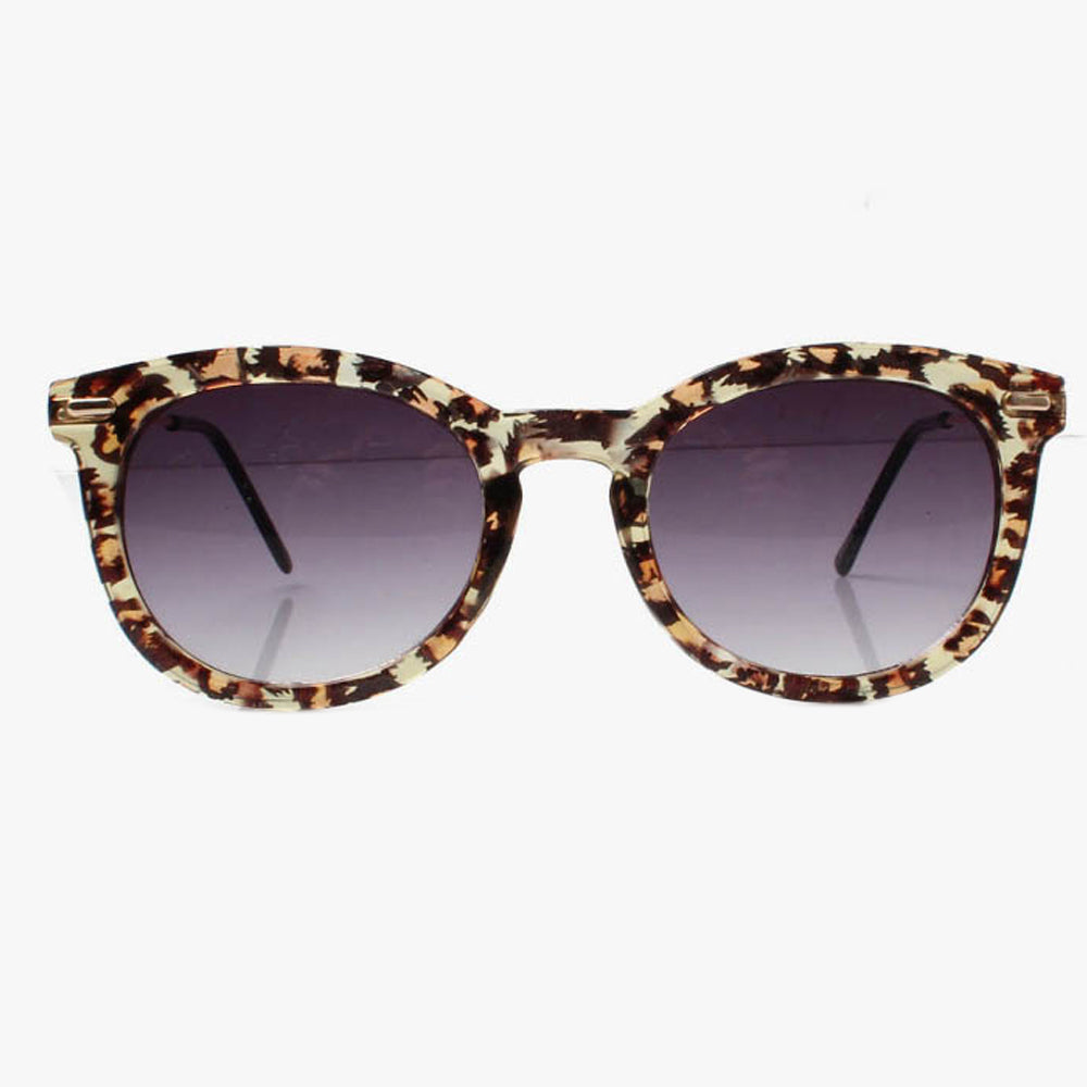 Clear Leopard Wayfarer Sunglasses - Accessory O