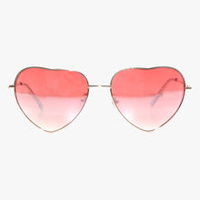 Load image into Gallery viewer, Heart Shape Sunglasses with Pink Lens - Accessory O