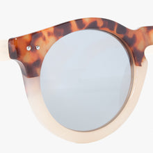 Load image into Gallery viewer, Tan Tortoise Shell Round Sunglasses - Accessory O