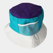 Load image into Gallery viewer, COLOUR BLOCK BUCKET HAT