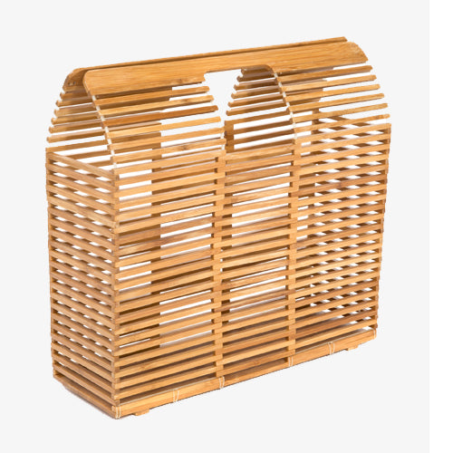 Limited Edition Bamboo Caged Bag