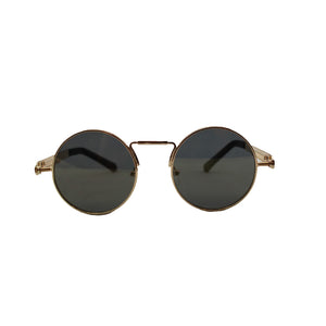 Tilly Round Retro Spring Sunglasses - Accessory O