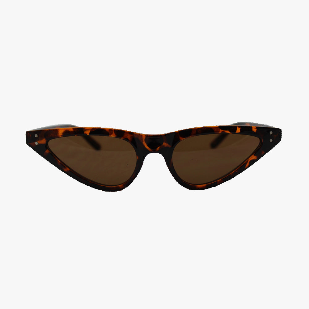 Mia Retro Thin Sunglasses - Accessory O