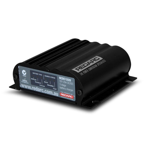 REDARC 20A in-vehicle dc battery charger BCDC1220
