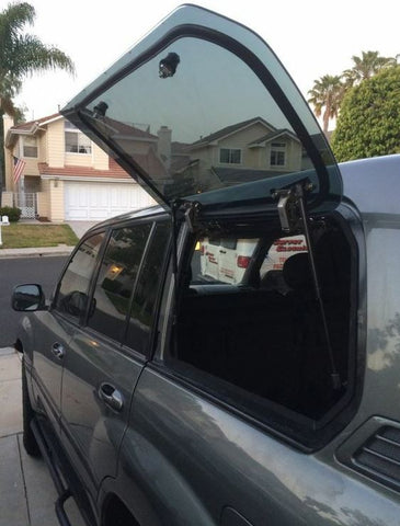 TOYOTA PRADO 100/105 SERIES & LEXUS LX470 - Emu Wing Window Vehicle Access - Auto Safety Glass