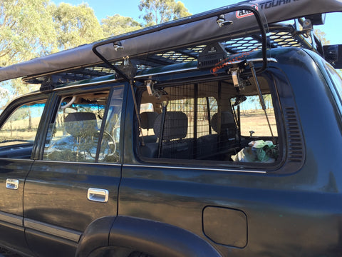 Landcruiser 80 series (1990-1998) Emu Wing Window Vehicle Access - Auto Safety Glass