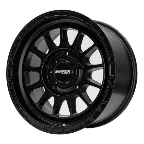 "SNIPER BALLISTIC 17"" 4x4 Wheels - Extra HD Rating (1250KG)"