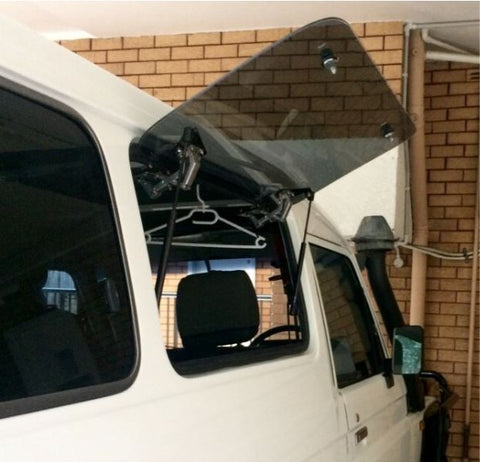 Toyota Landcruiser 75 & 78 series - Emu Wing (REAR/SIDE) Window Vehicle Access - Auto Safety Glass