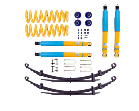 Toyota Landcruiser 78 / 79 Series 50mm suspension lift kit - Bilstein B6