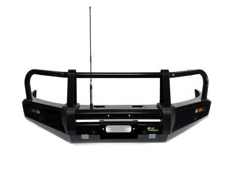 Mitsubishi Pajero (2011-2014) NW to NX Ironman Bullbar Commercial Style - BBC045
