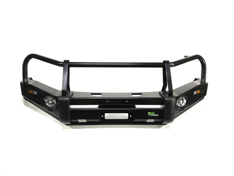 Nissan Patrol (1988-1997) GQ Wagon and Coil Cab Deluxe Commercial Bull Bar - BBCD010