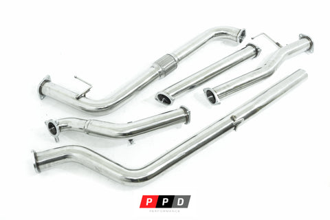 "Nissan Navara (2005-2006) D40 TD 3"" Stainless Steel Exhaust System"