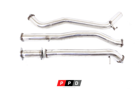 "Ford Ranger (2016+ October-onwards) PX2 & PX3 3"" DPF Back Exhaust"