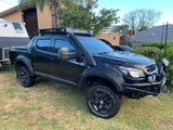 Holden Colorado (2012-2019) Dual Cab ULTIMATE Roof Rack - Integrated Light Bar & Side lights