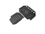 Nissan Patrol (2015-2019) Y62 High Tensile Three Piece Steel Bash Plate