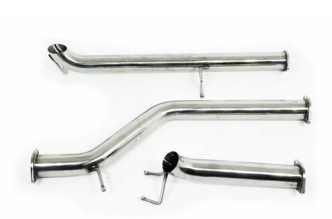 "VW Amarok (2011+) 2L Twin Turbo TDI400 TDI420 3"" Stainless DPF Back Exhaust"