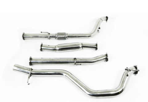 "Toyota Hilux (2005-2015) D4D KUN 3L Turbo Diesel - 3"" Turbo Back Exhaust"