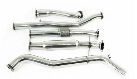 Mazda BT-50 (2011-2016) 3.2L TD - Stainless Steel Turbo Back Exhaust