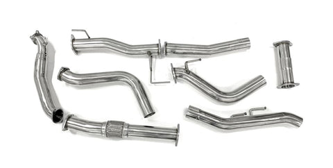 "Isuzu D-MAX (08/2010-2012) 3"" Stainless Steel Turbo Back Exhaust"