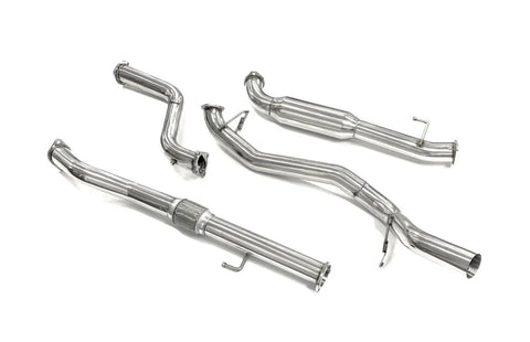 "Mitsubishi Triton (2000-2006) MK 2.8L TD 3"" turbo back Exhaust Upgrade"