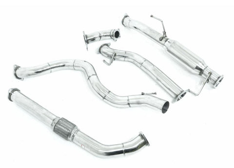 "Isuzu D-MAX (2008-07/2010) 3L TD 3"" Turbo Back Exhaust System"