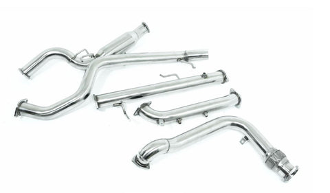 "Mitsubishi Pajero (2006-2014) NS NT NW 3.2L TD - 3"" Stainless Steel Turbo Back Exhaust"