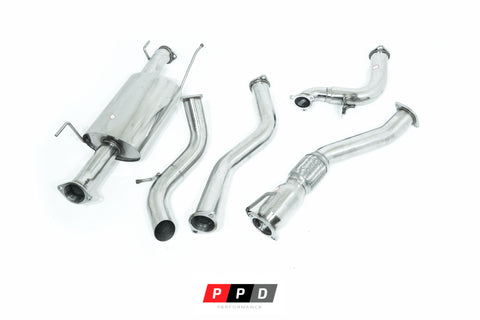 "Toyota Hiace (2006-2015) KDH201R 3L Turbo Diesel - 3"" Turbo Back Exhaust"