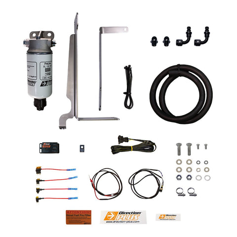 Isuzu DMAX (2012 - 2019) 3.0L Direction Plus PRELINE-PLUS KIT